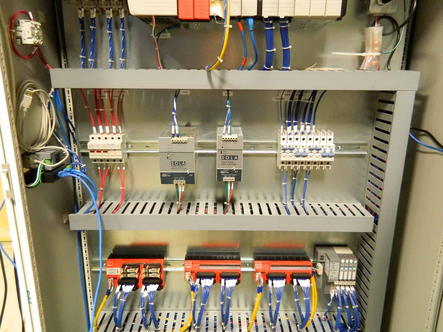 Wires are clearly labeled making them very easy to read, all components are  neat and clean.This saves time during testing process and further ...