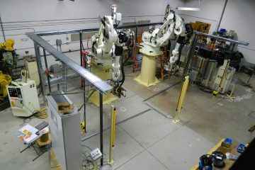 Robotic Weld Assembly Cell
