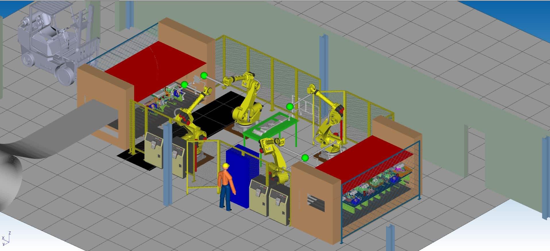 automated press simulation