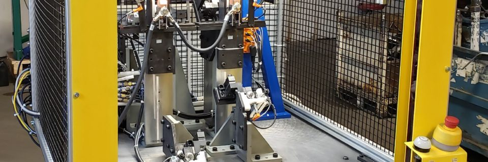 Automated Stud Welding Machine.