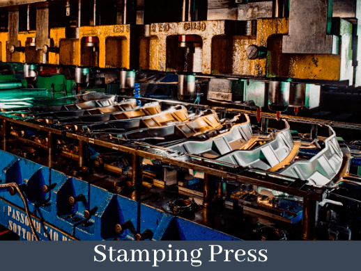 automated stamping press